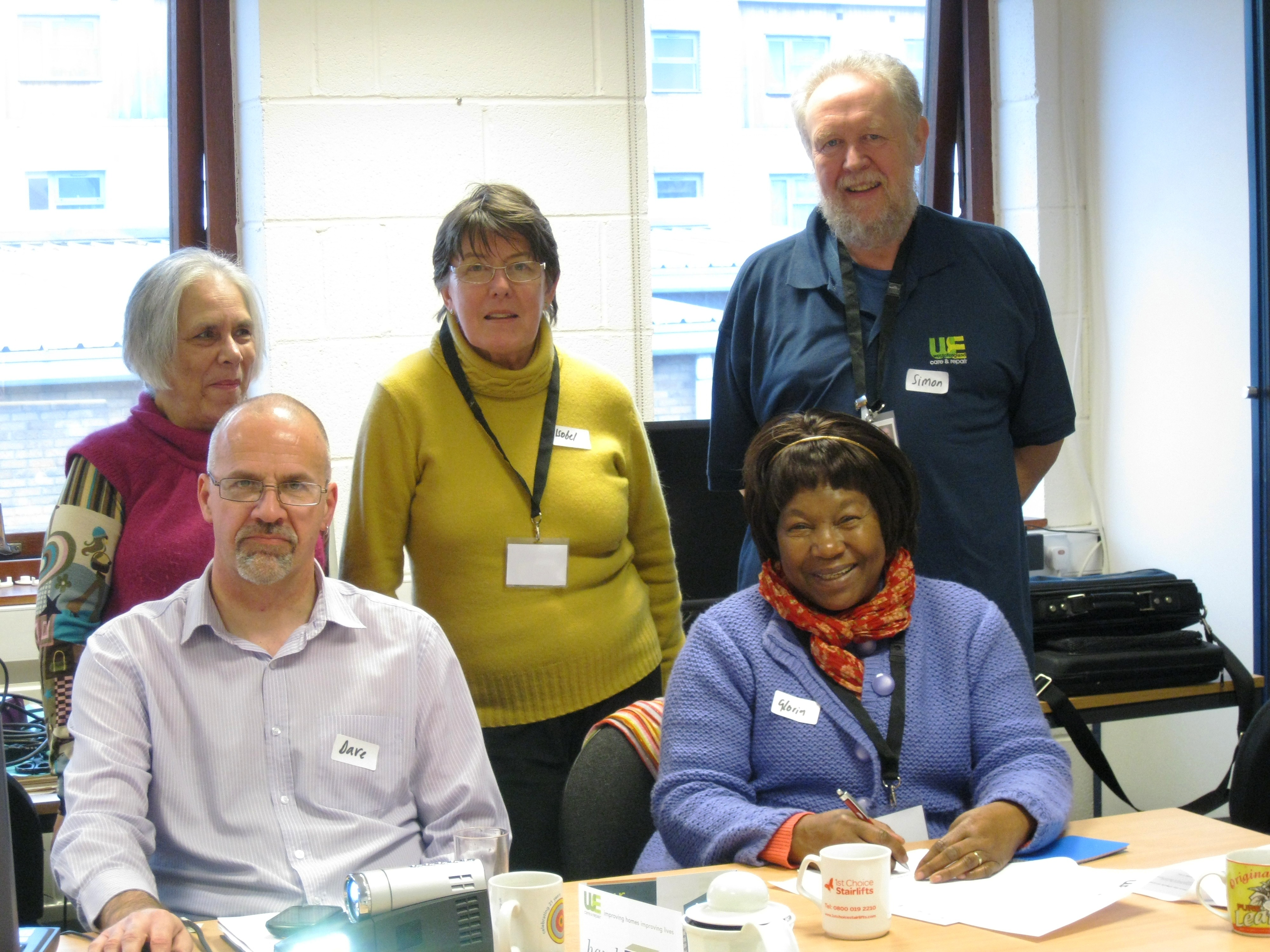 volunteering and people People who volunteer are generally a really friendly bunch and whatever you find  yourself doing you're bound to get along with the other people working there.